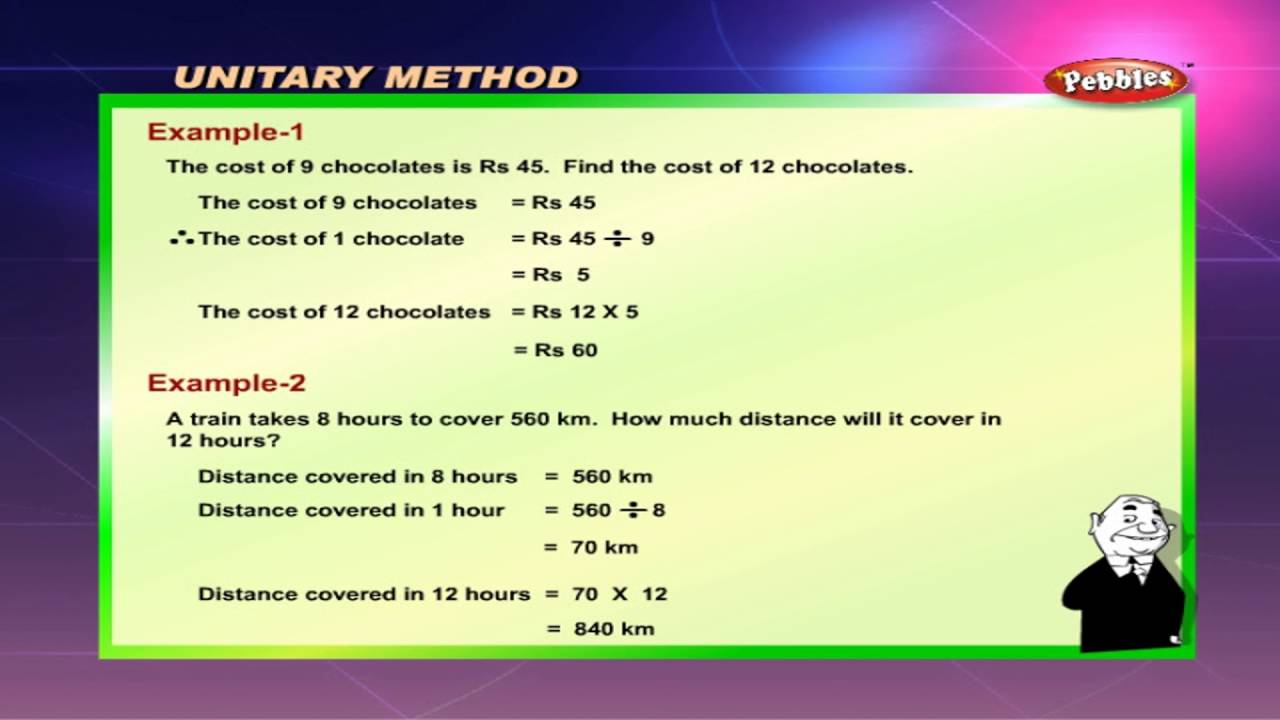 Cbse 5th CBSE Maths | Unitary method | NCERT | CBSE Syllabus | Animated  Video
