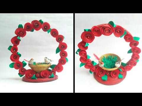 Newspaper craft   best out of waste craft idea   recycle newspaper   HMA##351