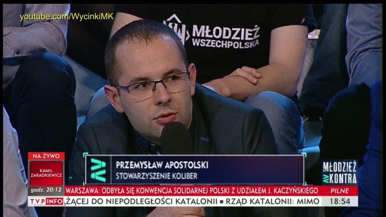 Młodzież kontra 612: Przemysław Apostolski (Stow. Koliber) vs Marek Jakubiak (Kukiz'15) 07.10.2017