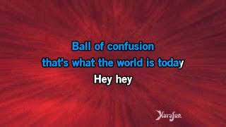 Karaoke Ball Of Confusion   Love And Rockets