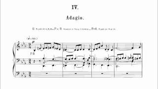 Ch.-M. Widor: Symphonie No. 1 - IV. Adagio