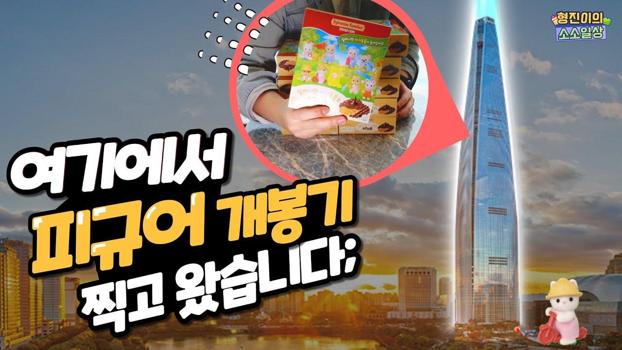 서울에서 제일 높은 시그니엘에서 실바니안 초코와플을 개봉해봤습니다 | 소소일상 SOSO1SANG