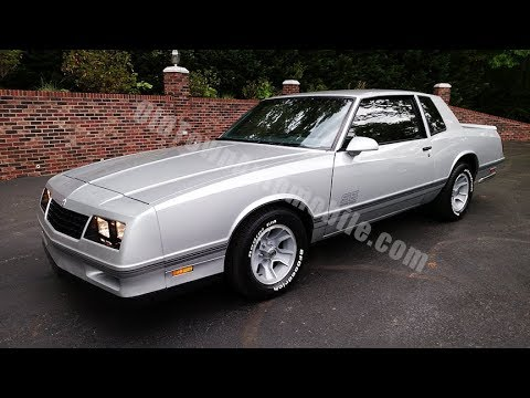 1987 Chevrolet Monte Carlo SS for sale Old Town Automobile in Maryland