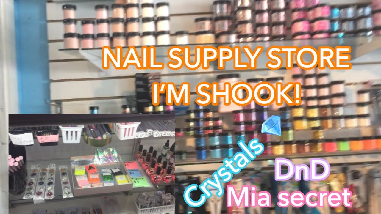 Come with me to the Nail Supply Store!