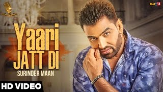 new punjabi songs 2016   yaari jatt di   surinder maan   tashan records   latest punjabi songs 2016