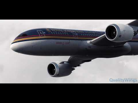 QualityWings Boeing 787 Dreamliner Review - AirDailyX