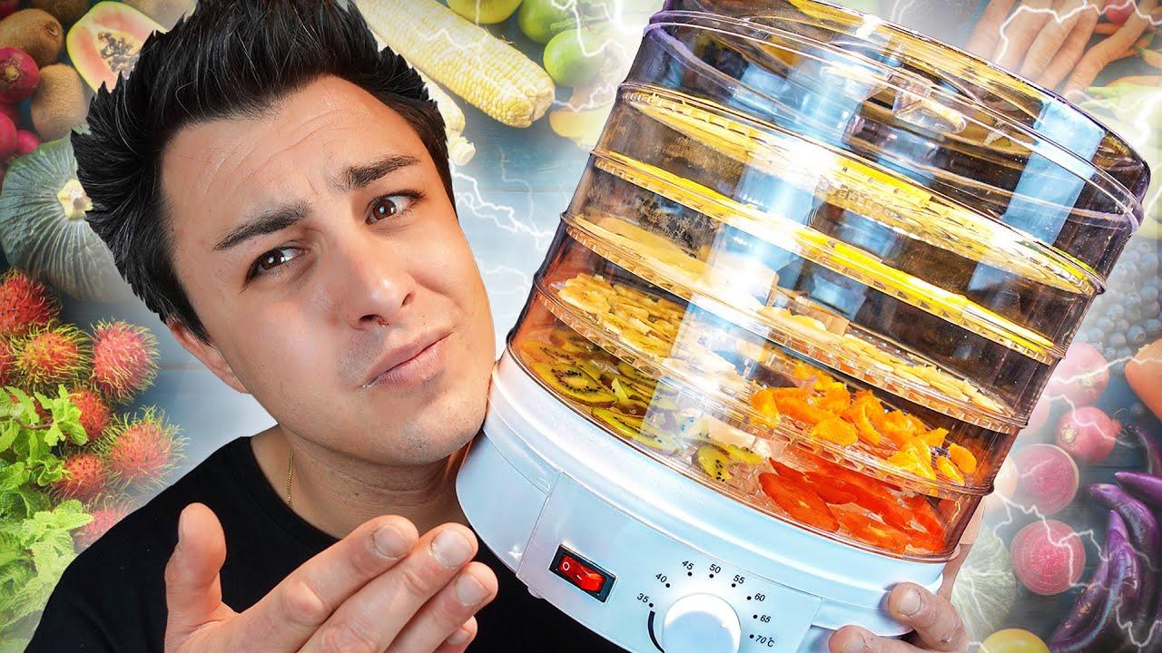Je teste une MACHINE À DÉSHYDRATER les aliments !