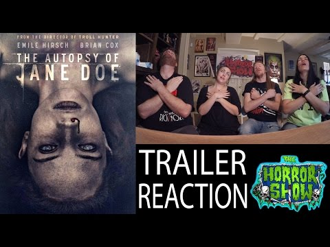 "Thumbnail: ""The Autopsy of Jane Doe"" Trailer Reaction - The Horror Show"