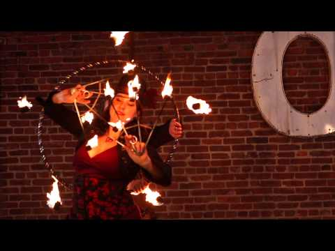 Dance Afire Productions- Fire Dance Theater and Flaming Feats of Fancy- Promotional 2013