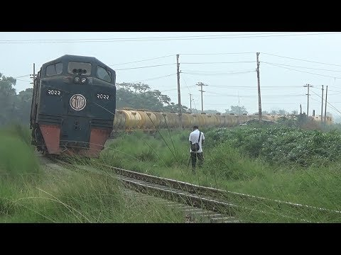 Dhaka bound Oil Tanker Freight Train / Bangladesh Railway