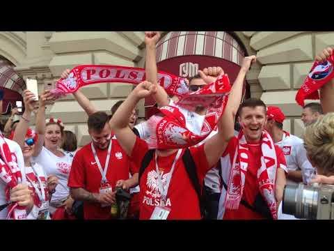 Polska biało-czerwone   2018 FIFA World Cup Russia