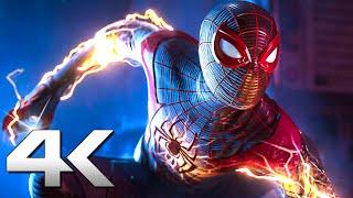 SPIDER-MAN MILES MORALES Trailer Brasileiro DUBLADO 4K (Novo, PS5)