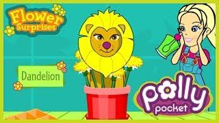 Polly Pocket Flower Surprise - Childhood Games
