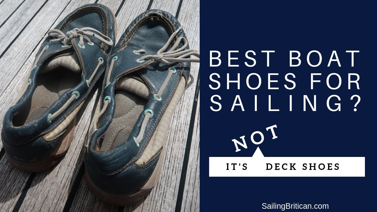 Best Boat Shoes For Sailing - It's Not