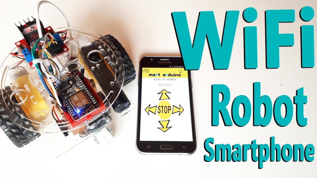 How to Make Arduino ESP8266 WiFi Robot Car | Controlled with Application
