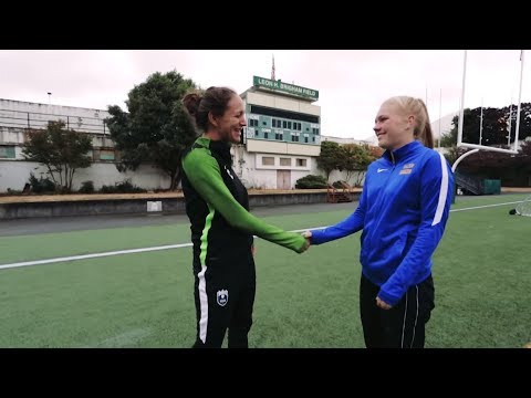 BECU & Reign Inspiring Leaders | Ep3: Avery learns with Seattle Reign FC Assistant Coach