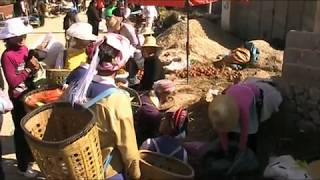 Monday village market in Shaping, Yunnan.
