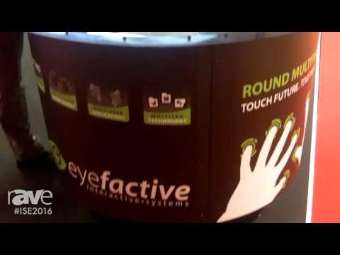ISE 2016: eyefactive Presents AURORA MultiTOUCH System