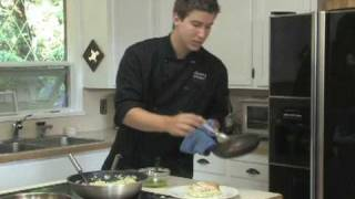 Pan Seared Halibut With Lemon Pesto Risotto - Vancouver Personal Chef Drew Cooks!