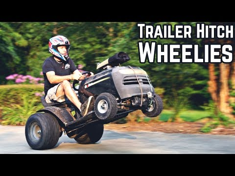 50HP Lawn Mower WHEELIE MACHINE
