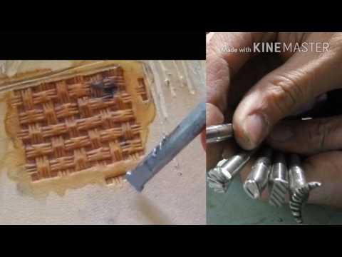 Штампы для тиснения кожи своими руками