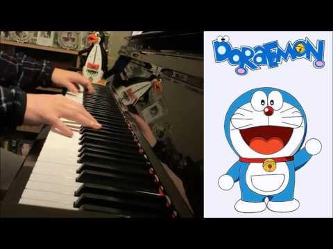 Doraemon Theme Song - Doraemon no Uta ドラえもんのう (Piano Cover by Amosdoll)
