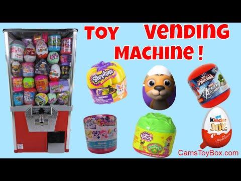 Toy Vending Machine Surprises Kinder...