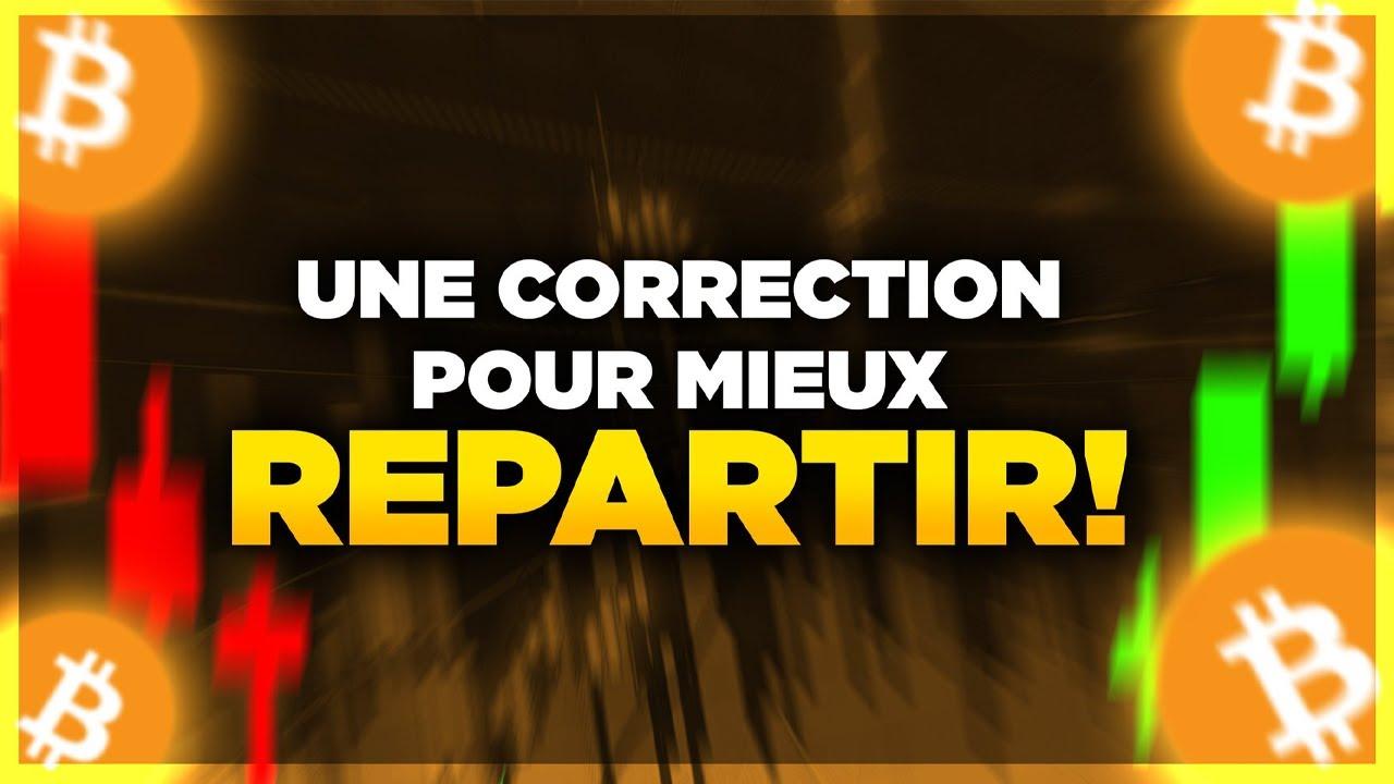 BITCOIN : UNE CORRECTION POUR MIEUX REPARTIR ? 🤔