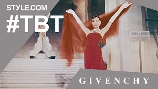 Audrey Hepburn Honors Hubert de Givenchy at His Career Retrospective- #TBT with Tim Blanks-Style.com