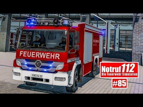 NOTRUF 112 #85: Der Grill steht in Flammen - Feuerwehr-Einsatz I Feuerwehr-Simulation |