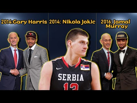 THE DENVER NUGGETS DRAFT: Gary Harris, Nikola Jokic and Jamal Murray | MAJOR STEALS