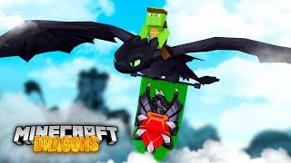 Our NEW DRAGON NATION! - Minecraft Dragons
