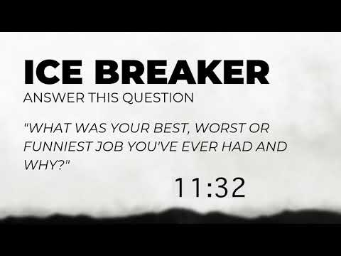 Ice Breaker & Study