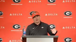 Kirby Smart talks about No. 5 Georgia's 66-27 win over UMass
