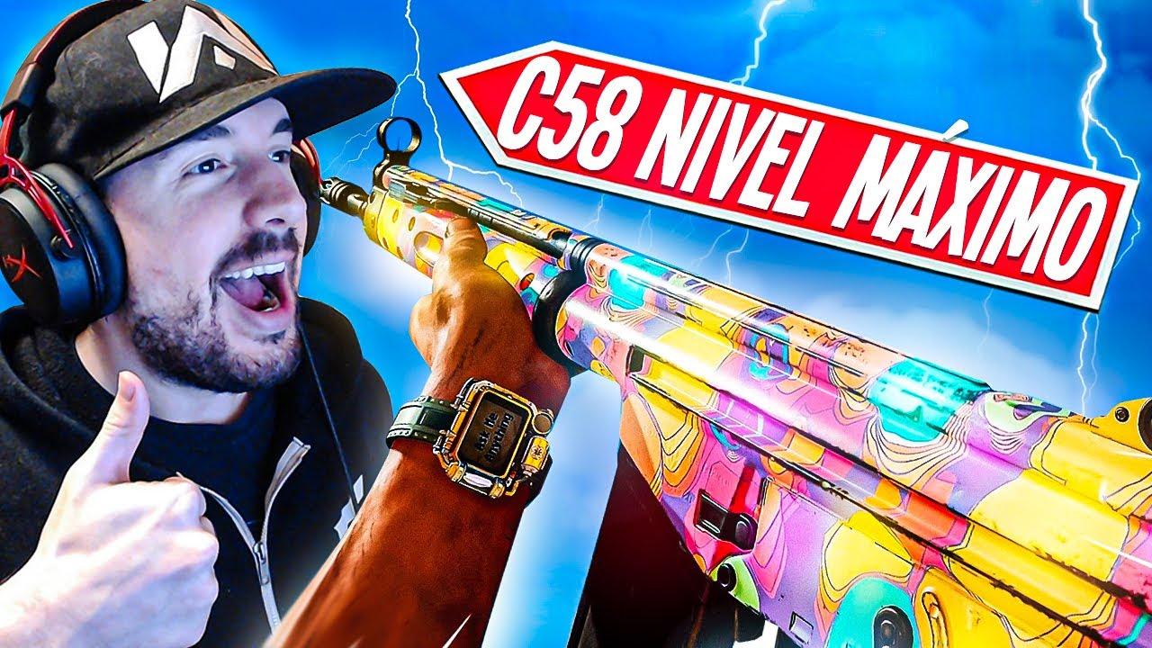 """👑ASÍ es el NUEVO ARMA """"C58"""" al MÁXIMO NIVEL en WARZONE👑 *La MEJOR CLASE C58*"""