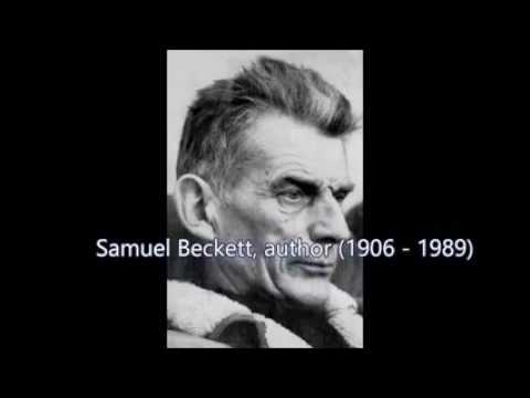Samuel Beckett's voice from Prix Italia acceptance speech (1959).