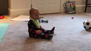 TRY NOT TO LAUGH   when Babies play sports   Funny Fails Video