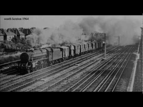 british railways past & present nw & sw london