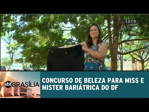 Concurso de beleza para Mister e Miss Bariátrica do DF | SBT Brasília 24/07/2018