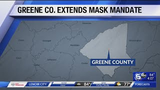 Greene county mask mandate extended