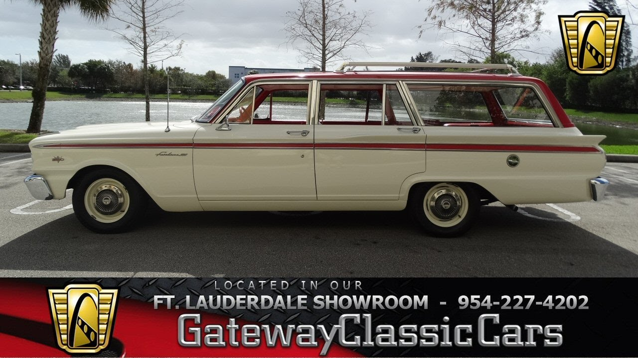 431 ftl 1963 ford fairlane ranch wagon youtube