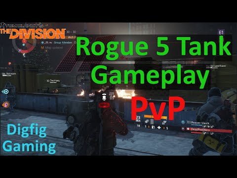 The Division Dark Zone PvP Gameplay | Super OP Tank Build