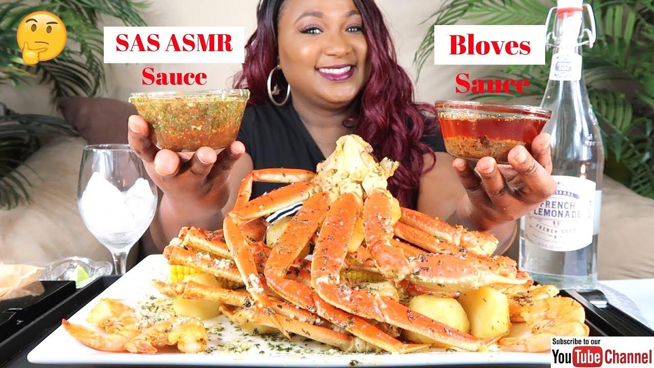 Seafood Boil Mukbang Snow Crab Legs Sas Asmr Sauce Bloveslife Seafood Sauce Youtube Everyone has a different asmr triggers. seafood boil mukbang snow crab legs sas asmr sauce bloveslife seafood sauce