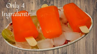 Kuchi Ice Recipe In Tamil | Orange Ice Recipe | Orange Lolly | Orange Popsicle | Aadhish Samayal