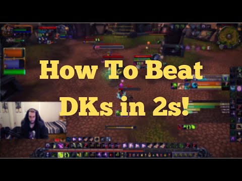 How To Beat Dks in 2s! - Warlock POV 2v2 Arena (BFA World of Warcraft)