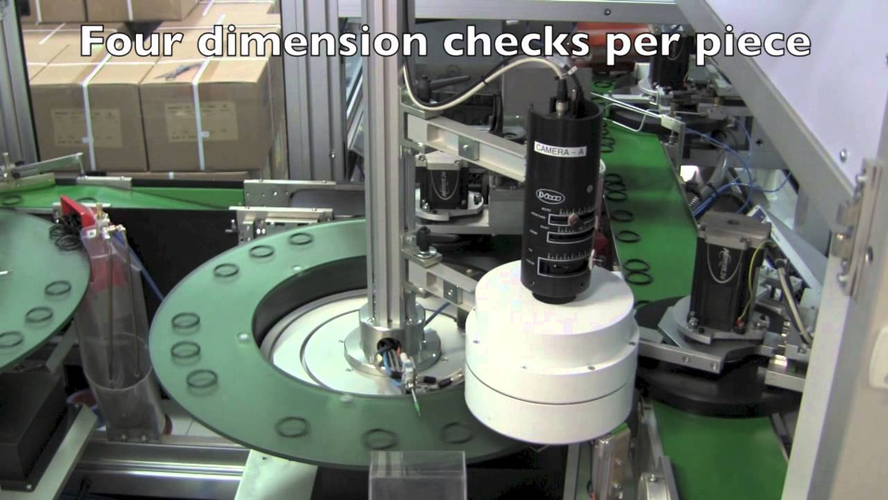 O Ring Inspection Machine At Seal Amp Design Inc Youtube