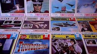 CENTURY 21 MINI ALBUMS THUNDERBIRDS CAPTAIN SCARLET STINGRAY JOE 90 THUNDERBIRDS  FIREBALL XL5