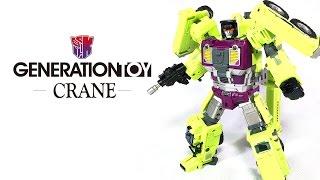 KL變形金剛玩具分享82 第三方 GT 工程合體 大力神 吊車 Generation toy Crane