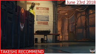 Takeshi Recommend Weekly Vendor Reset June 23rd 2018