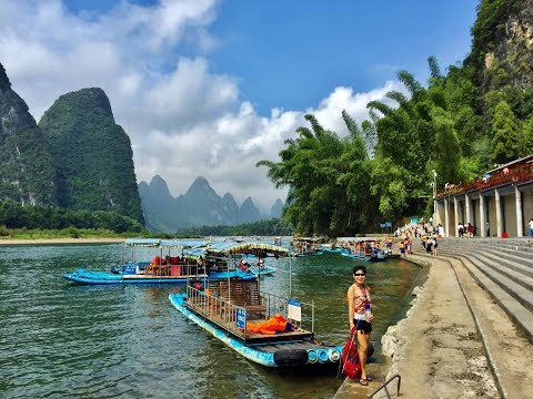 Sept 2017: Magical Guilin & Yangshuo in Southern China, the Backpakers' Paradise